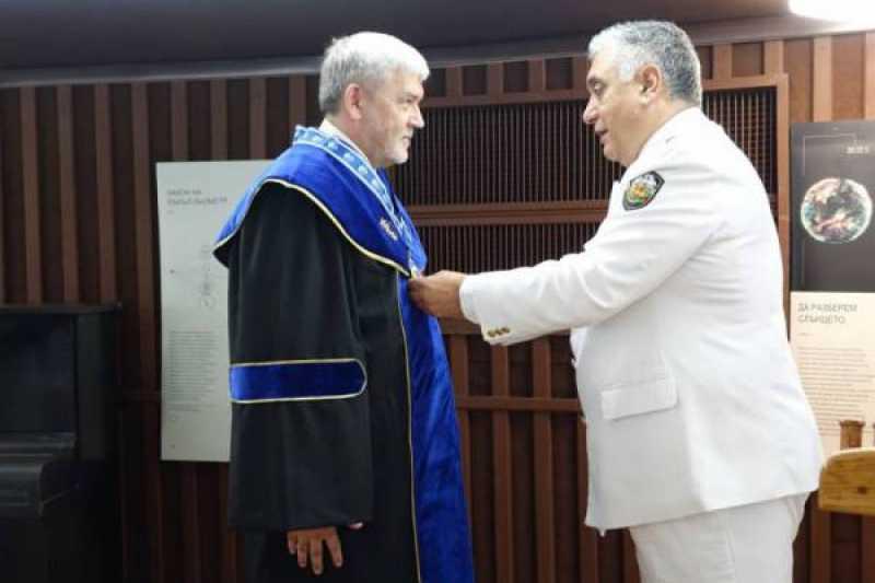 Doctor Honoris Causa for the Rector-Commandant rear-adm prof. Tomasz Szubrycht