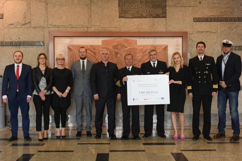 8 mln z konkursu dla Akademii Marynarki Wojennej