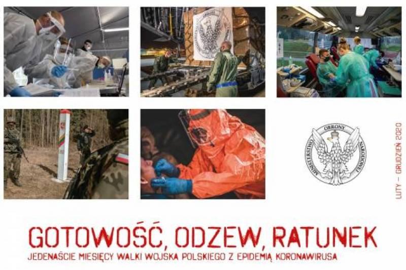Wojsko Polskie cały czas zaangażowane jest w walkę z COVID-19