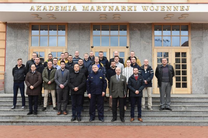 Szkolenie dla Frontex - Europejskiej Agencji Straży Granicznej i Przybrzeżnej