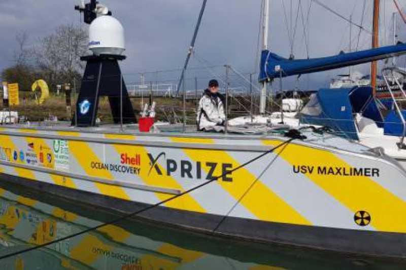 Pierwsze bezzałogowe przejście jednostki nawodnej przez Kanał Angielski