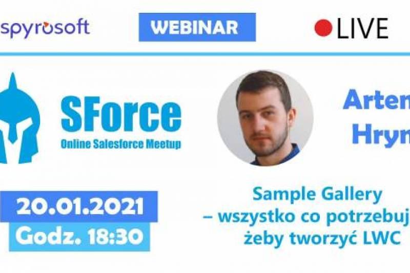 SForce - Online Salesforce Meetup #11 - wydarzenie dla pasjonatów Salesforce