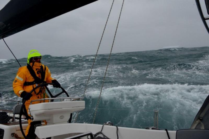 Incredible achievement of polish sailors. Khatarsis circumnavigated Antarctica